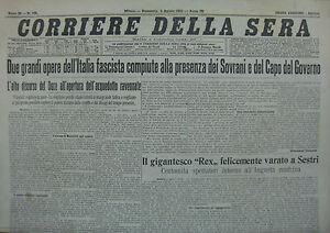 RE-DELLA-SERA-034-N-183-di-DOMENICA-2-AGO-1931-ORIGINALE-D-039-EPOCA