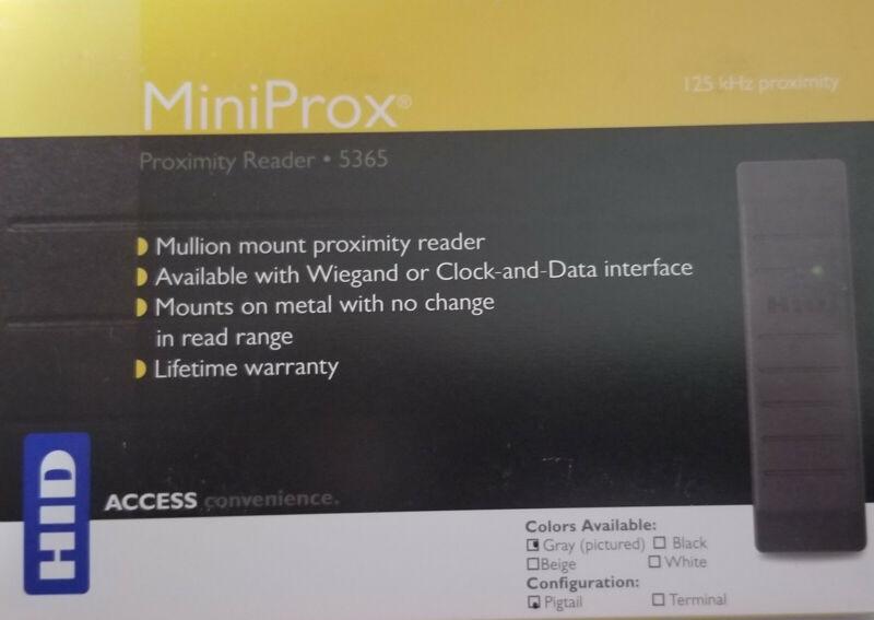 HID Miniprox Reader 5365EGP00 Wiegand
