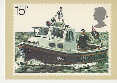GREAT BRITAIN -  POLICE BOAT - PHQ39(d) - 1979