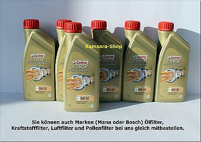Berlín Castrol EDGE PROFESIONAL A5 0w-30 6l A1/B1 A5/B5 0w30
