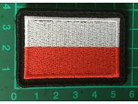 Polish army flag POLAND patch  45mmx45mm
