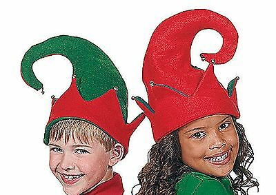 3pc ELF Shoes and Hat Set Child Christmas Holiday - Elf Hat And Shoes