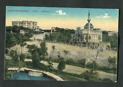 C1920s View: Horsemen, Yildiz Palace, Istanbul