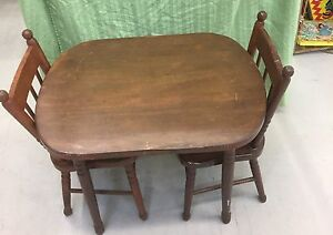 Child Size Bass River Table Chairs/Rocking Chair