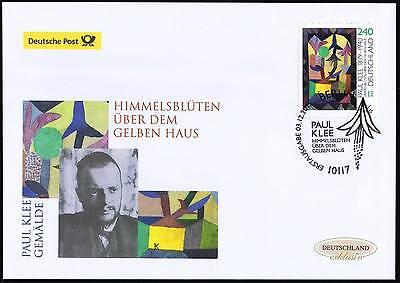 BRD 2015: Paul-Klee-Gemälde! Post-FDC der Nr 3195 mit Berliner Stempel! 1611