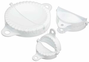 3x pasty mould kitchencraft canap samosa dumpling for Canape maker
