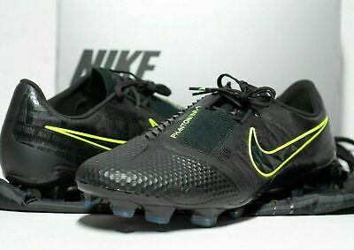 Nike Phantom Venom Elite FG Size 8 Firm Ground Soccer Cleats Black Volt