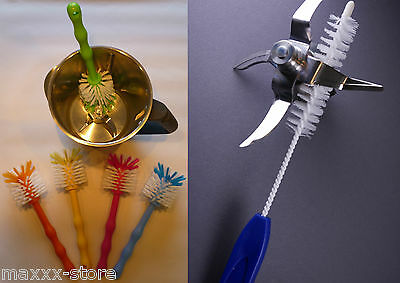1 Set Bürste Reinigungsbürste + Messerb., ideal für Thermomix / Töpfe TM31 TM5