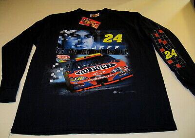 Jeff Gordon Race Car Driver (Jeff Gordon NASCAR Race Car Driver #24 Vintage 2007 Long Sleeve Shirt New NWT)