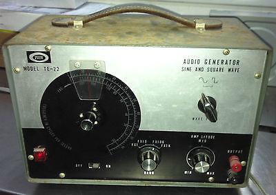 Vintage Tech Japan Audio Generator Model Te-22