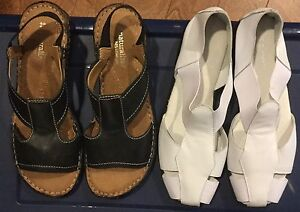 Leather Naturalizer Sandals