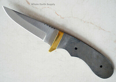 Knife Blade Utility Hunter Hunting Small Knives Blades Blanks Custom Making (Best Small Fixed Blade)