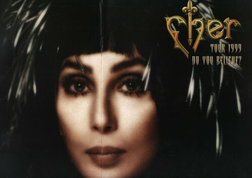CHER 1999 DO YOU BELIEVE? TOUR CONCERT PROGRAM BOOK BOOKLET / EXCELLENT