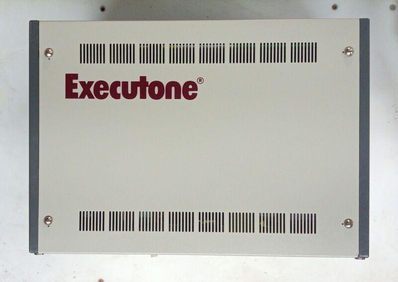 Executone #(CX 3672) Telephone System W/ 6 Executone #(2992504) Phones.