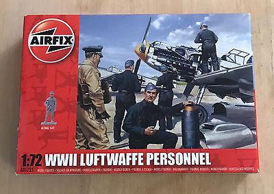 AIRFIX 1/72 WWII GERMAN LUFTWAFFE PERSONNEL