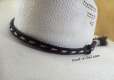 7a779cb3 Western, horsehair Hat band, Larger Side tassel, Cowboy hat band, Get  Noticed