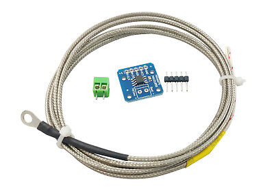 Max31855 Type K Thermocouple Temperature Sensor Module Shield With Thermocouple