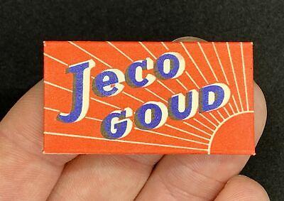 Vintage Single Paper Wrapped JECO GOUD Double Edge Razor Blade