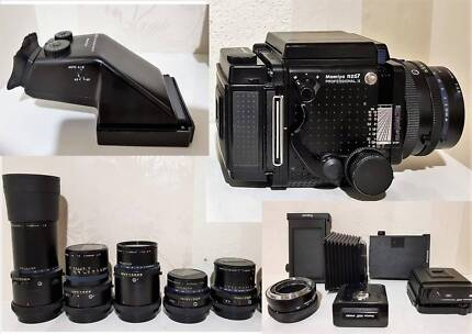 Mamiya RZ67 Pro II Cameras , Lenses, Accessories, Tripods