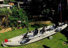 Hobie Mirage Outfitter Tandem Fishing Kayak West Wodonga Wodonga Area Preview