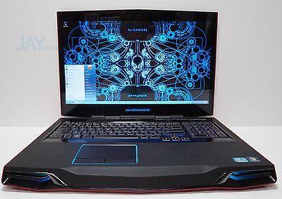 """Dell Alienware M17x R4 Core i7-3610QM 2.3GHz 16GB 750GB Radeon HD 7970M 17.3"""""""