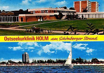 Holm am Schönberger Strand , Ansichtskarte, gelaufen