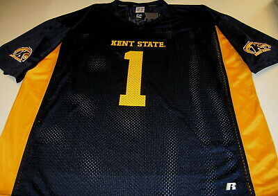 KENT STATE University Golden Flashes #1 - Football JERSEY New! NWT XXL 2X 50 52 Kent State Football
