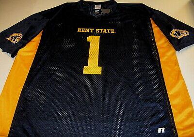 KENT STATE University Golden Flashes #1 - Football JERSEY New! NWT XXL 2X 50 52 Kent State Football