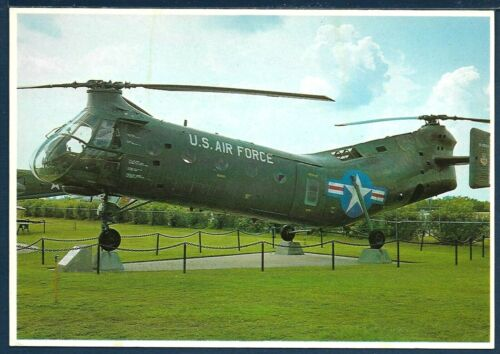 USAF CH-21B Workhorse/Shawnee Helicopter at the USS ALABAMA Battleship Memorial
