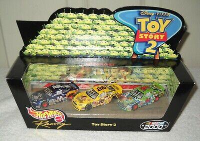 #10371 NIB Mattel Target Disney Pixar Hot Wheels Racing Toy Story 2 Vehicle Set