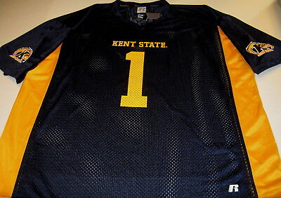 KENT STATE University Golden Flashes #1 - Football JERSEY New! NWT XXXL 3X 54 - Kent State Football
