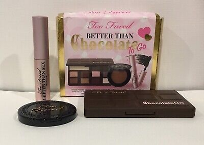Too Faced - Better Than Chocolate To Go -  3 Pcs Set - Brand New In