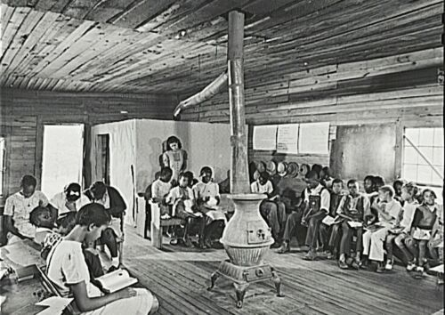 One Teacher African American School- Veazy, Greene County Georgia-1941-  PHOTO