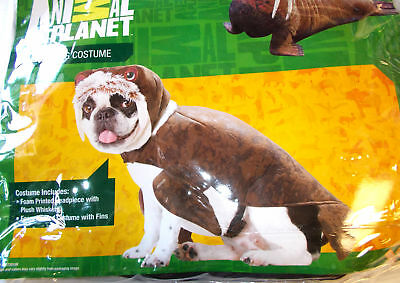 Walrus Dog Pet Animal Costume Small Medium NIP