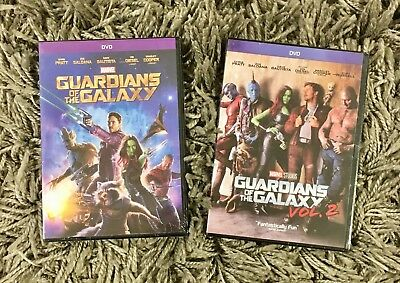Guardians Of The Galaxy 2 Dvd Bundle Set Volume 1   Volume 2  Brand New