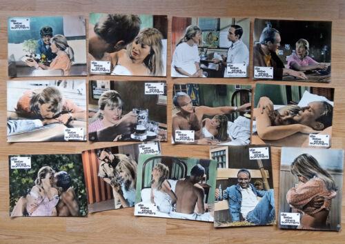 JOANNE WOODWARD Paul Newman HOW I LAY ME DOWN 22 German lobby cards OLSON 1968