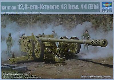 TRUMPETER® 02312 WWII German 128mm Pak44 (Rheinmetall) in 1:35