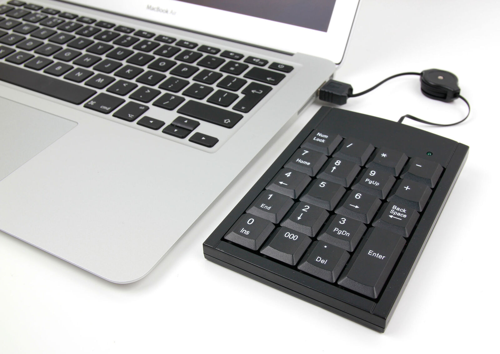 usb number pad for laptops