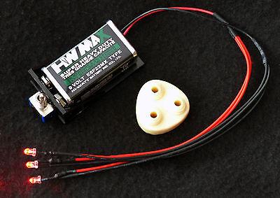 LED Tri-Laser & Laser Mount  bio helmet mask Predator