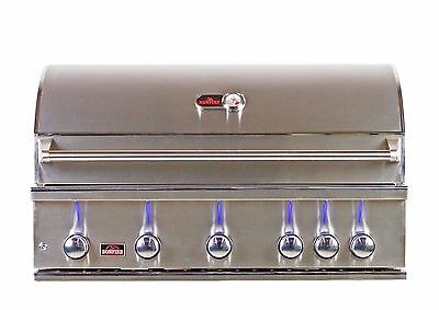 Bonfire 5 Burner Prime 500 Stainless Steel Drop-in Built-in BBQ Grill