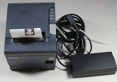 Epson Tm-t88v M244a Rs-232 Usb Thermal Pos Receipt Printer W Power Adapter