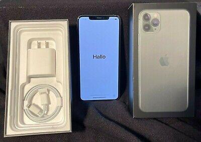 Apple iPhone 11 Pro Max - 64GB - MidnightGreen (Unlocked-SPRINT) MINT CONDITION