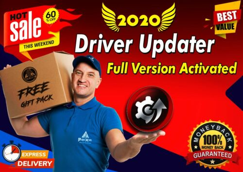 🔥 PRO DRIVER UPDATER Software 🔥 Full Version Lifetime Activated + FREE GIFT 🔥