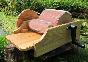 Classic Drum Carder in Solid Ash for spinning &felting