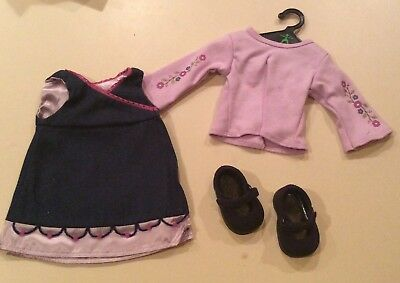 Jumper Outfit (American Girl Denim Jumper Outfit - MIB -)