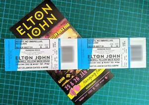 Elton John Farewell Yellow Brick Road 25/01 Hanging Rock Silver S1