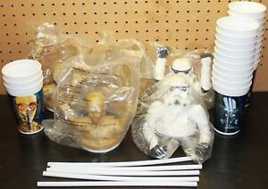Star Wars / Taco Bell 1997 Cups & Toppers