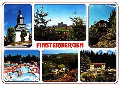 Finsterbergen , Ansichtskarte, 1999 gelaufen