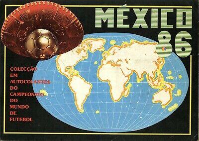 ALBUM CROMOS FUTBOL MUNDIAL MEJICO 86 MABILGRAFICAS FACSIMIL COMPLETO Y NUEVO