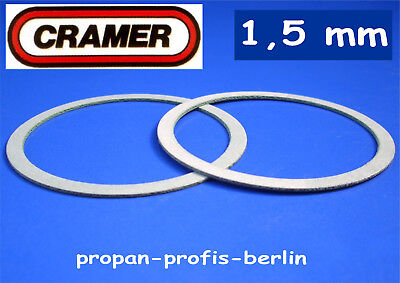 Dometic Dichtung (original CRAMER Brennerdeckel-Dichtung 1,5 mm - 2 Stück (Dometic))